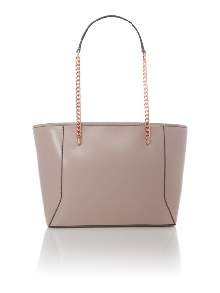 Ted Baker Jalie taupe bow tote bag