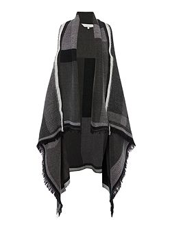 Ana waterfall blanket throw on