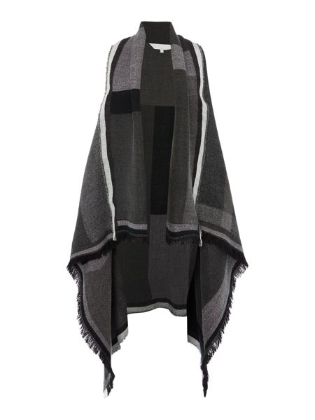 Gray & Willow Ana waterfall blanket throw on