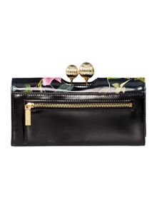 Ted Baker Marggo multicolour large flapover purse