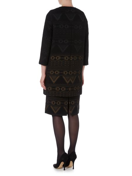 Max Mara Giara embellished long coat