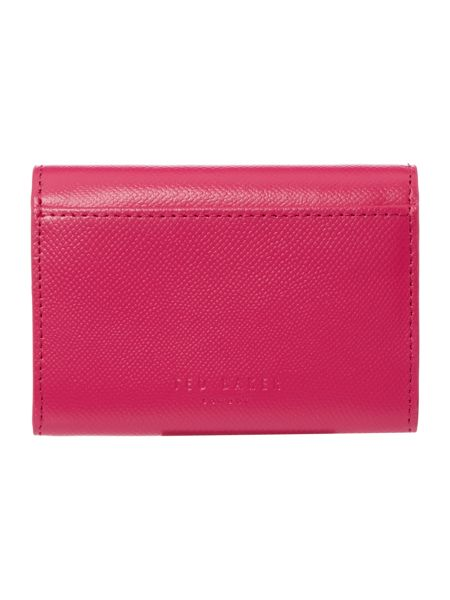 Ted Baker Marged purple small ziparound purse