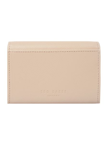 Ted Baker Marged nude small ziparound purse
