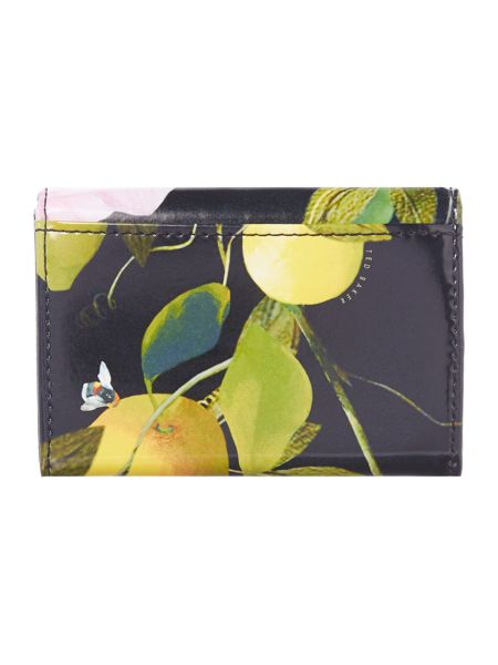 Ted Baker Shanita multicolour small flapover purse