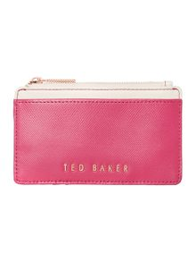 Ted Baker Kinnble purple coin purse