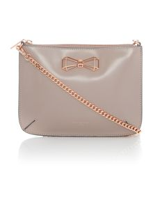 Ted Baker Gretaa taupe bow crossbody bag