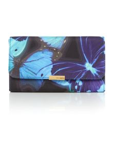 Ted Baker Lassie black clutch bag