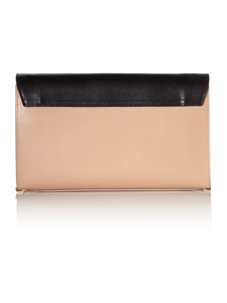 Ted Baker Jade nude large cross-body bag