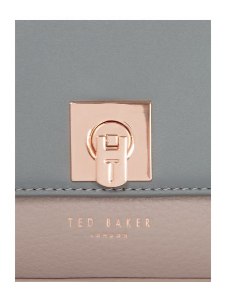 Ted Baker Chelsee taupe wing cross-body bag