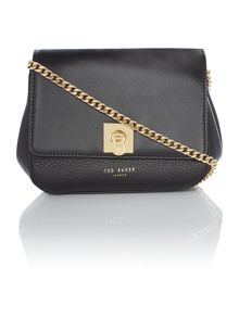 Ted Baker Chelsee black wing cross-body bag
