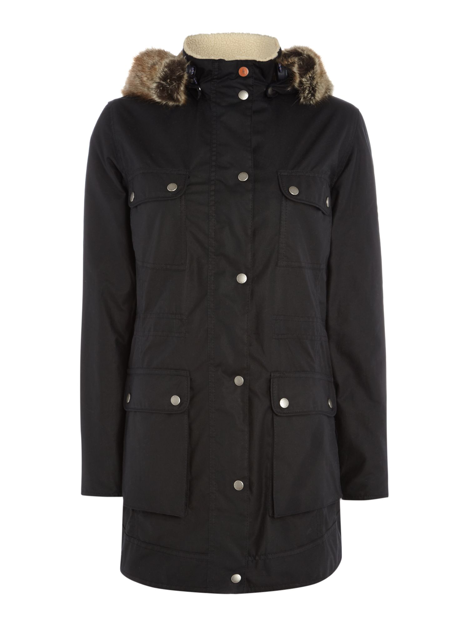 Barbour Carribena wax jacket, Blue