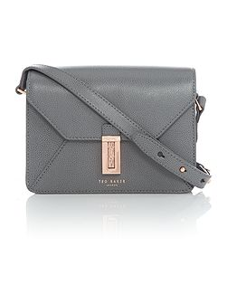 Ellen grey cross-body bag