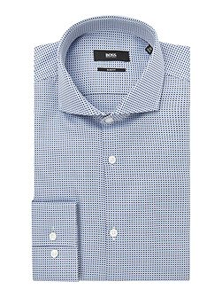 Jason Jacquard Gingham Shirt
