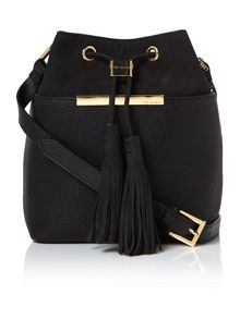 Ted Baker Melania black bucket bag