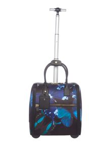 Ted Baker Tallula multi-colour butterfly suitcase