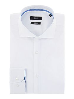 Jery Plain Weave Trim Shirt