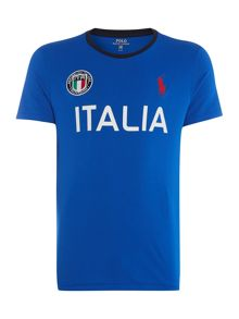 Polo Ralph Lauren Countries Of The World Italy Tee