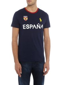 Polo Ralph Lauren Countries Of The World Spain Tee
