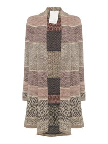 BRAINTREE Heriot Fairisle Throw Cardigan