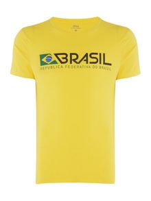Polo Ralph Lauren Countries Of The World Brasil Tee