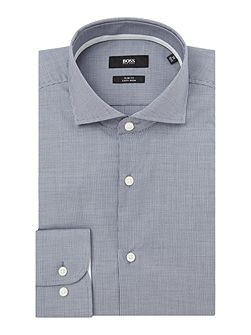 Jery Fine Gingham Shirt with Trim
