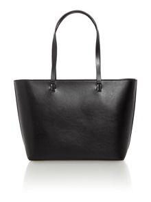 Guess Audrey black tote with detachable pouch