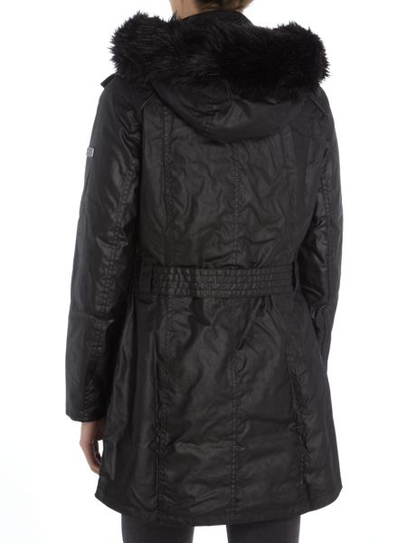 Barbour B.Int Katana wax parka
