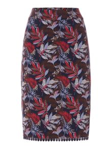 Dickins & Jones Alice Aline Floral Printed Skirt