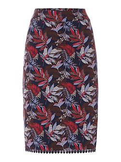 Alice Aline Floral Printed Skirt