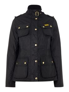 Barbour International Fins wax jacket