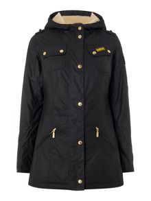 Barbour International flywheel parka