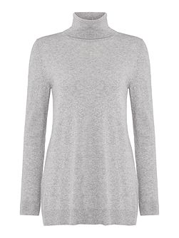 Foscari long sleeve roll neck cashmere jumper