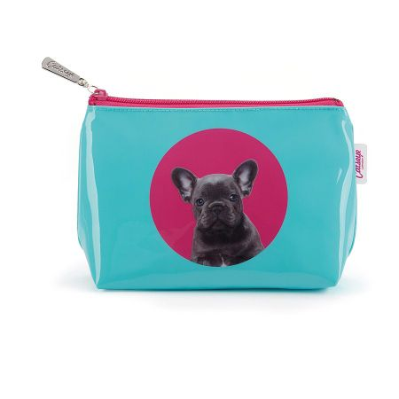 Catseye Blue spot bulldog small bag