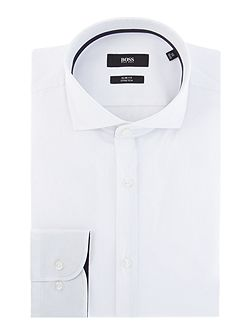 Jery Plain Weave Shirt with Trim
