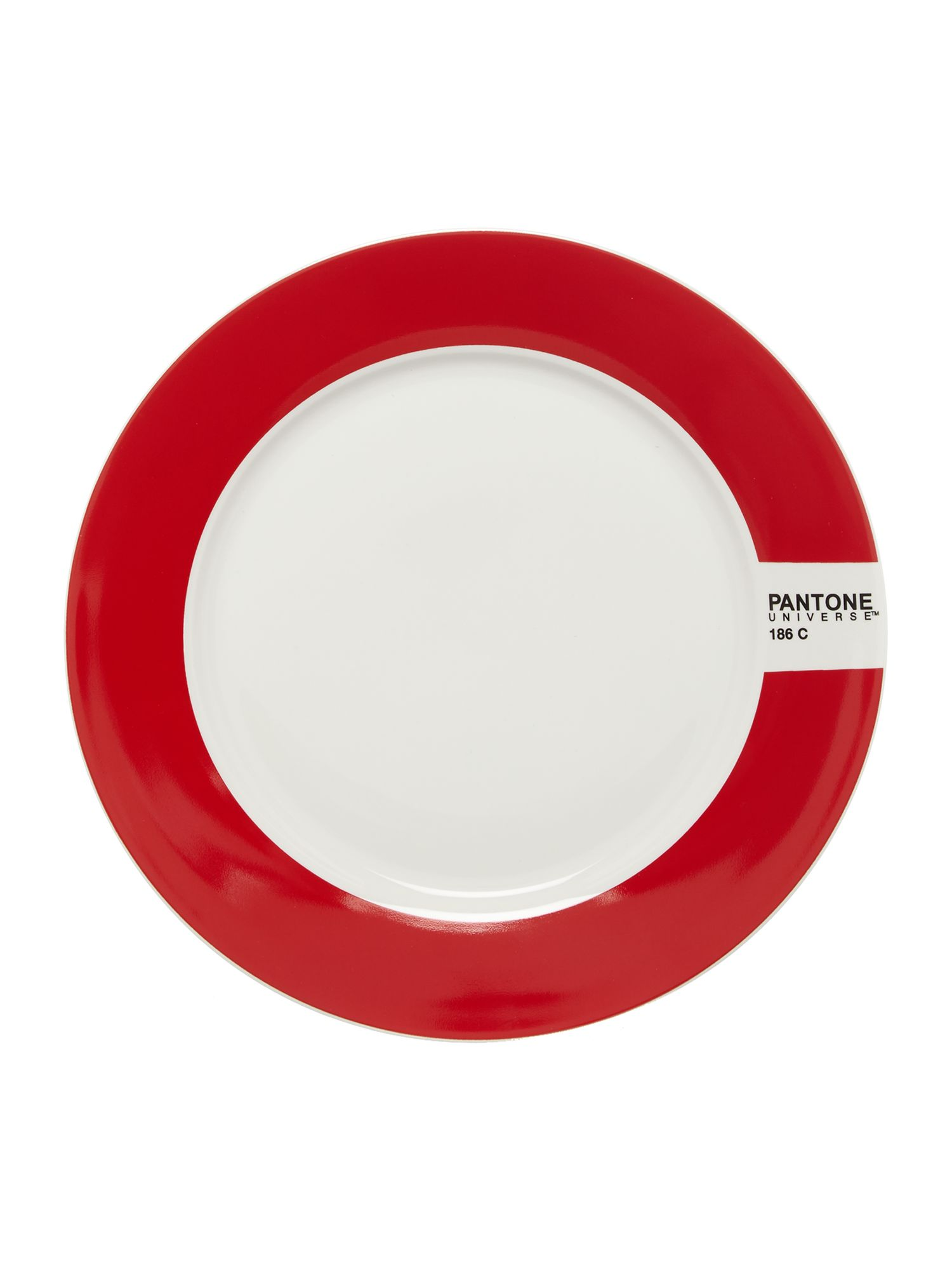 Image of Pantone Small plate luca trazzi red