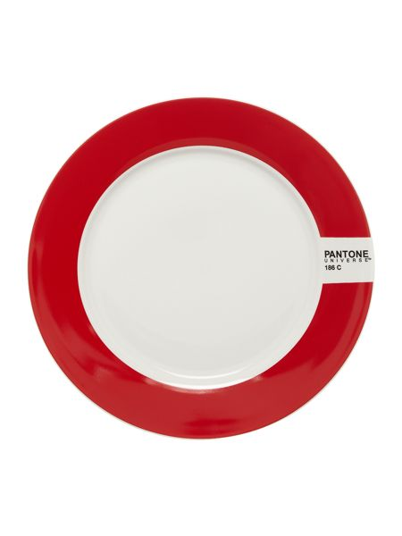 Pantone Small plate luca trazzi red