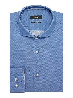 Jery Textured Shirt with Trim