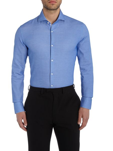 Hugo Boss Jery Textured Shirt with Trim