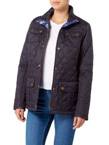 Barbour Emma wedgewood quilt jacket