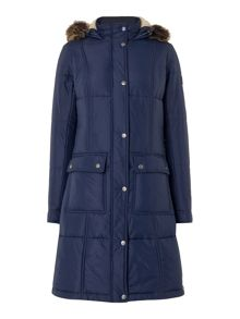 Barbour Icefield quilt coat