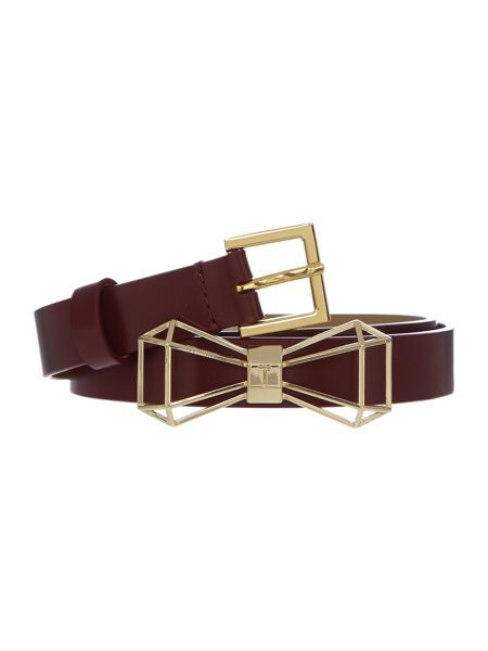 Ted Baker Adalina red bow belt