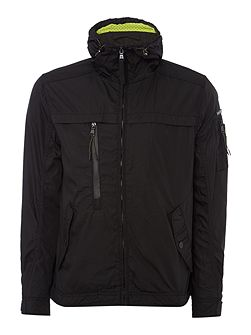 Karteka lightweight hooded jacket