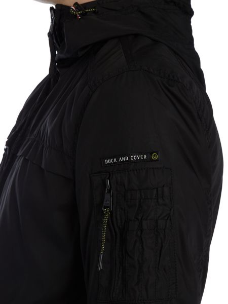 Duck and Cover Karteka lightweight hooded jacket