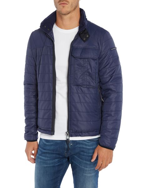 Duck and Cover Outland  utility quilted jacket