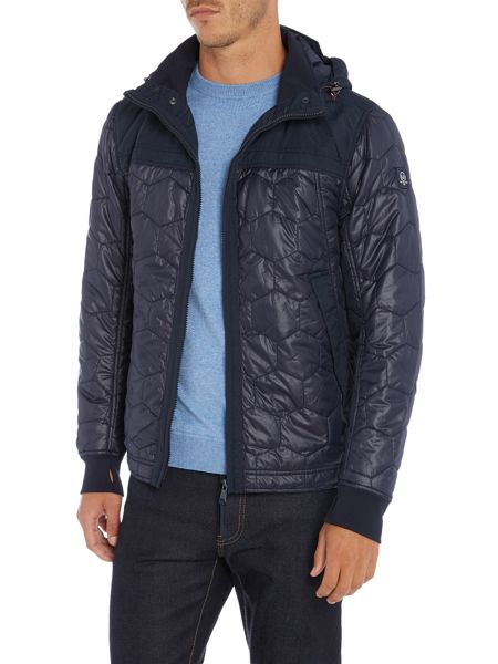 Duck and Cover Axis hooded terrace overshirt