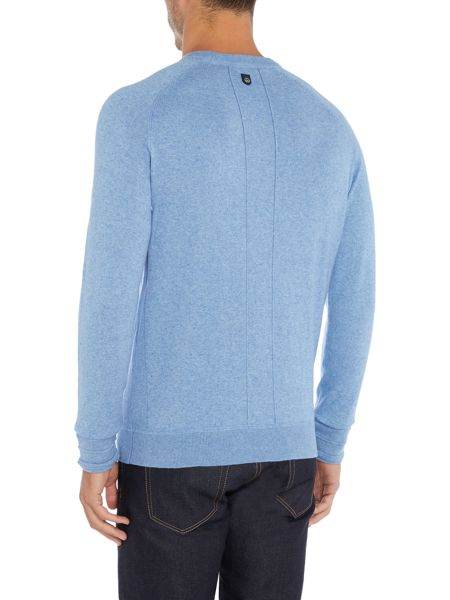 Duck and Cover Relay cotton stretch crew neck jumper