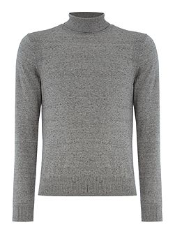 Cast stretch turtle neck jumper
