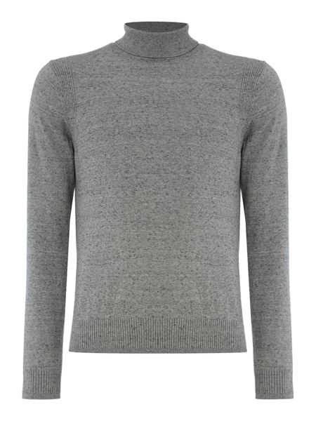 Duck and Cover Cast stretch turtle neck jumper