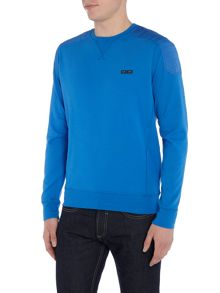 Duck and Cover Metropia crew neck with spandex