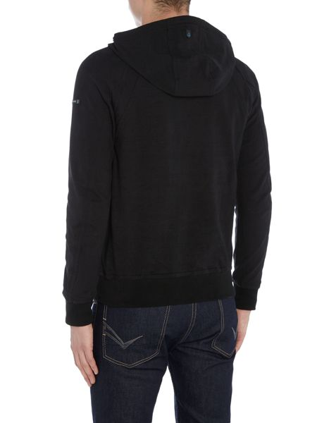 Duck and Cover District funnel neck hoody